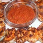 Grilled Shrimp Kebabs with Spicy Cocktail Sauce
