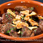 Beef Salpicao with Fried Garlic
