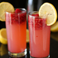 Raspberry Lemonade Champagne Smash