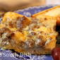Egg, Biscuit and Sausage Gravy Breakfast Casserole