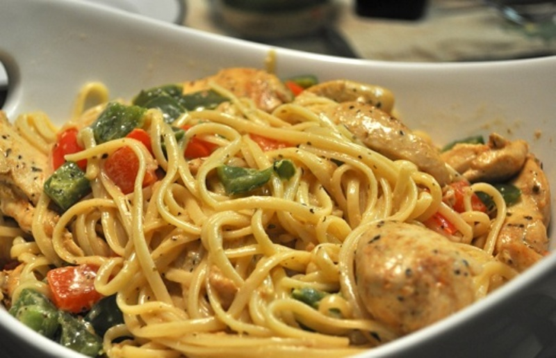 Cajun Chicken Pasta Recipe by Shalina - CookEatShare