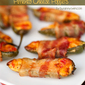 Bacon Wrapped Pimento Cheese Poppers