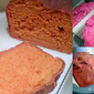 pink No-Knead BEET bread loaf