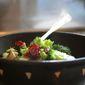 Broccoli Slaw with Buttermilk Dressing.