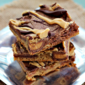 Peanut Butter & Chocolate Reese's Cookie Bars