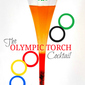 Olympic Torch Cocktail Recipe #SOCHI Winter Olympics 2014
