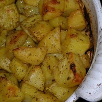 Easy Breezy Greek Potatoes