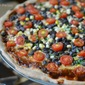 Smokin' Black Bean and Corn BBQ Pizza