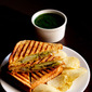 veg grilled sandwich recipe | bombay vegetable grilled sandwich recipe