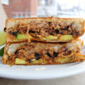Leftover Carnitas Grilled Cheese Melt