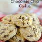Coconut Oil Chocolate Chip Pudding Cookies [No Butter!]