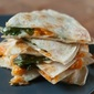 Sweet Potato with Spinach Quesadillas