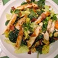 Grilled Chicken Salad with Warm Maple-Bacon Dressing