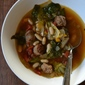 Sausage, Escarole, and Bean Soup