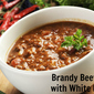 Brandy Beef Chili with White Beans – Cooking with Spirit!