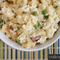 Macaroni and Cheese Recipe with Cauliflower, Peas and Tasso