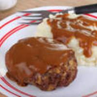 Easy Hamburger Steaks with Brown Onion Gravy