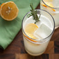 Little Miss Sunshine: Meyer Lemon Rosemary Gin Fizz for #CocktailDay