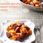 Chorizo and Spicy Sweet Potato Tapas #SundaySupper