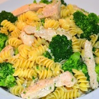 Broccoli with Garlic Pasta