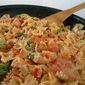 Chicken and Farfalle with Roasted Tomato Cream Sauce