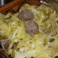 Cabbage and Italian Sausage