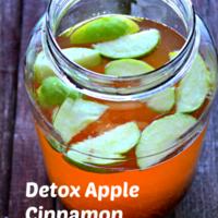 Apple Cinnamon Metabolism Detox Drink