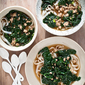 SPICY PORK SOUP WITH KALE and RICE NOODLES {+ BOOK PRE-ORDERS!}