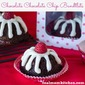 Chocolate Chocolate Chip Bundlets (Copy Cat version of Nothing Bundt Cakes)