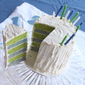 Seahawks Layer Cake with Natural Dyes
