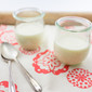Yogurt Panna Cotta Flecked with Vanilla Bean