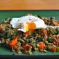 Meatless Monday : Warm Lentil Salad with a Poached Egg