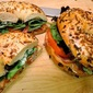 Bagel BLTs with Pancetta and Herb-Mascarpone