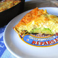 Winter Frittata: Brussels Sprouts w/ Bacon & Gruyere