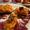 Portobello and Courgette stuffed with rustic Sweet Potato mash