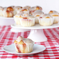Strawberry jam muffin tin rolls