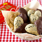 How to Make Chocolate Covered Sesame Seed Cookies for Valentine's Day - Video Recipe