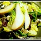 Pear and Gorgonzola Salad with Candied Walnuts