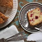 cranberry-orange coffee cake; a winter pick-me-up