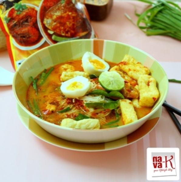 Mee Siam (Spicy Rice Vermicelli) Recipe by Navaneetham - CookEatShare