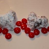 Rum Valentines Day Heart Cookies