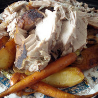 Sunday roast with vegetables