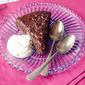 Warm Chocolate-Raspberry Pudding Cake
