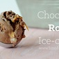 Chocolate Rolo Ice-cream