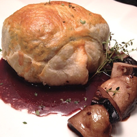 Beef Wellington with Foie Gras and Duxelle
