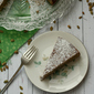 Pepita Cake with Mexican Chocolate and Tequila {she made, ella hace}