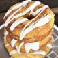 Drizzled Snickerdoodle Donuts