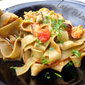 Tagliatelle with mussels