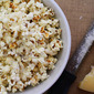 Brown Butter and Parmesan Popcorn, and a Wabash Valley Farms Popcorn Giveaway