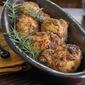 Easy Company Fare: Mustard Crusted Chicken Thighs